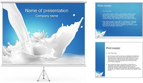 Milk Powerpoint Template  Projects To Try