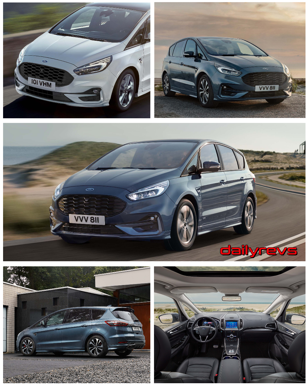 2020 Ford S Max Hd Pictures Videos Specs Information Ford