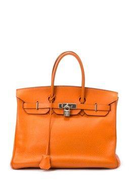 1cc81c9e746 Vintage Hermes Leather Birkin 35 Handbag Gostar
