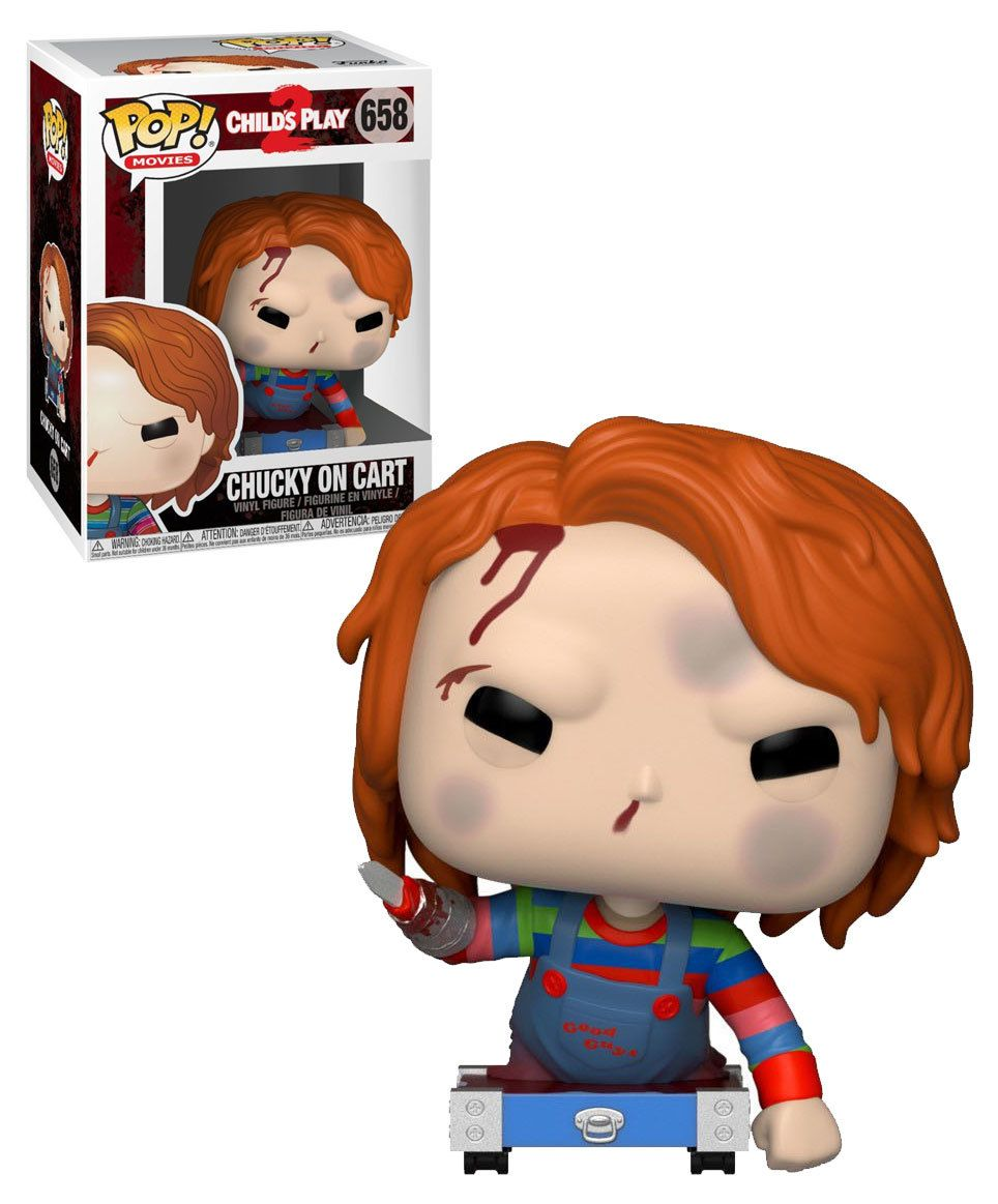 Funko Pop Movies Child S Play 2 658 Chucky On Cart New Mint Condition Kids Playing Funko Pop Dolls Childs Play Chucky