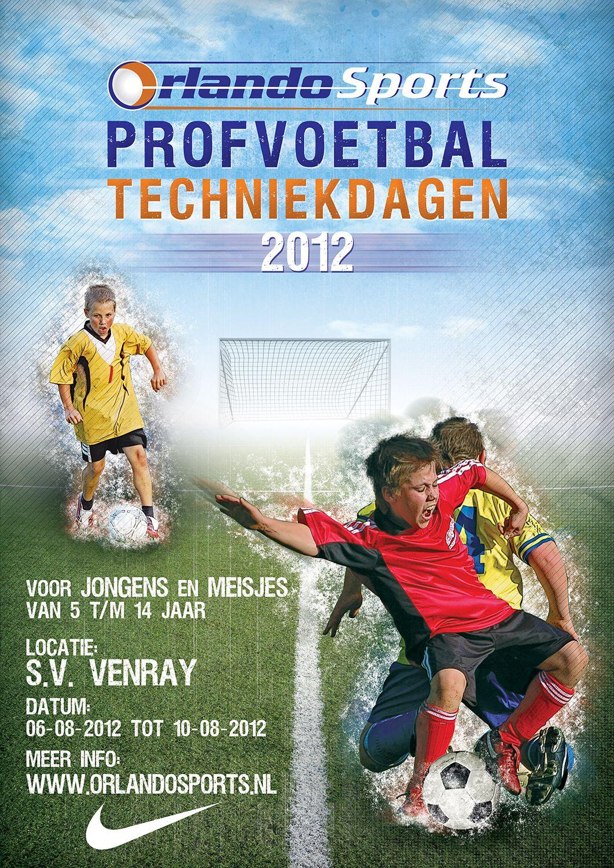 Opdracht voetbalweek poster