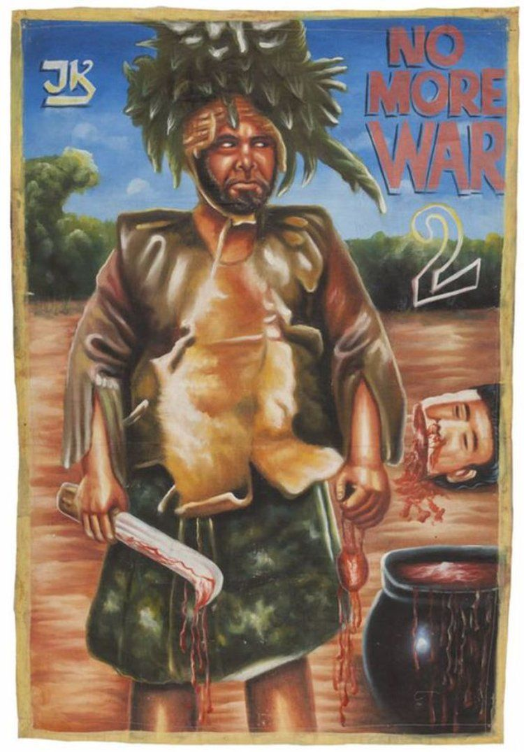 A Collection of 32 Bizarre African Movie Posters From the 1980s and