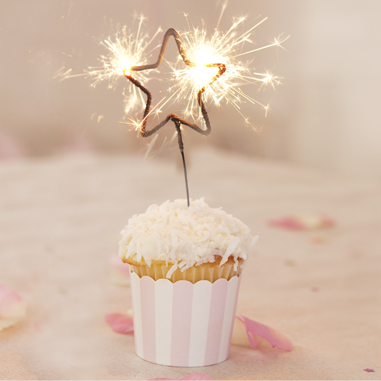 Sparkling Star Birthday Candles Cute Idea For July4th Celebrations