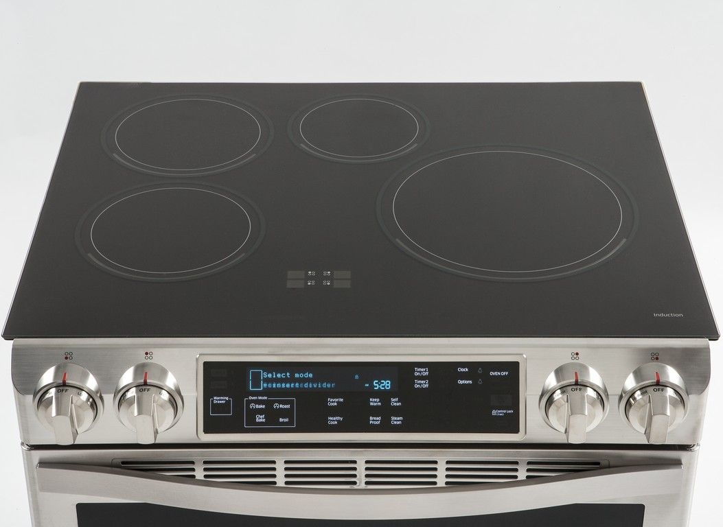 Samsung Ne58h9970ws Information From Consumer Reports Induction Cooktop Cooktop Induction Range