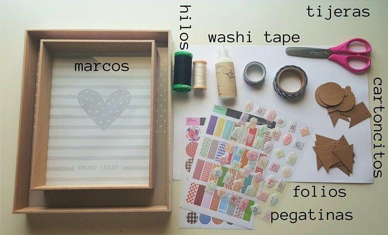DIY marco especial para los abuelos | Pinterest