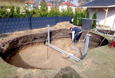 Aufbau Von Stahlwand Pools In 9 Schritten Garten Pool Selber