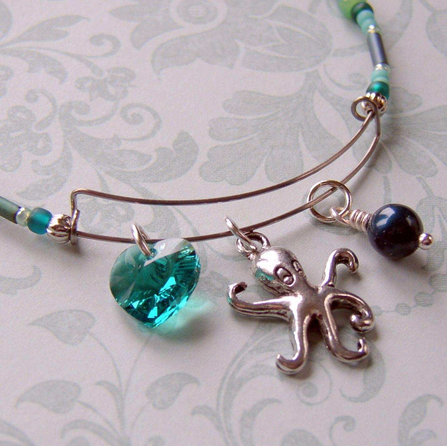 How To Make An Expandable Wire Bangle Bracelet Bead