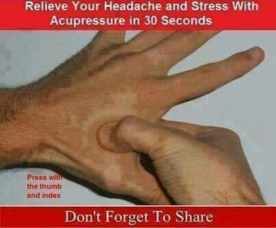 How To Get Rid Of A Headache Fast Pressure Points