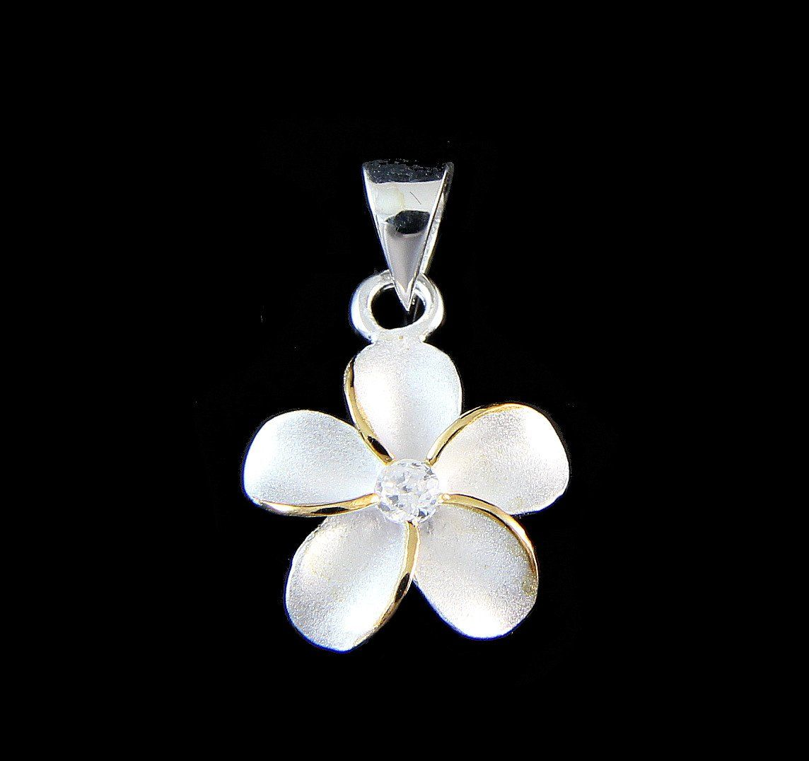 29mm Silver Yellow Plated Cross Charm