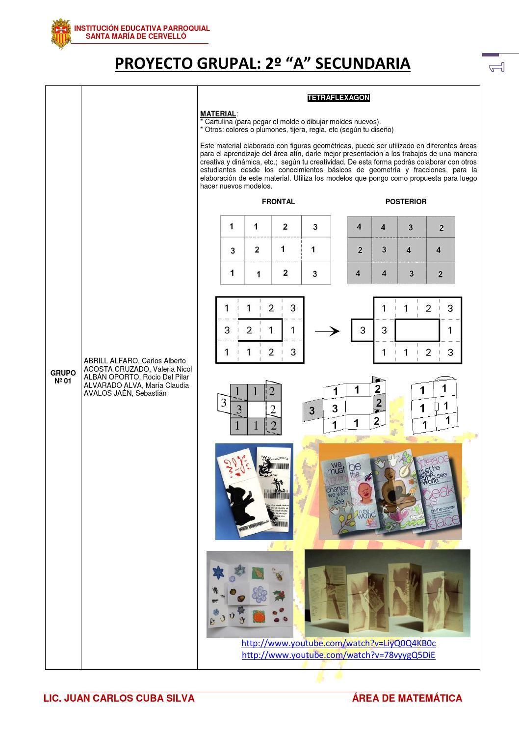 Materiales Para Proyecto De Matematica 2a Secundaria Proyectos De Matemáticas Matemáticas Para Secundaria Matematicas