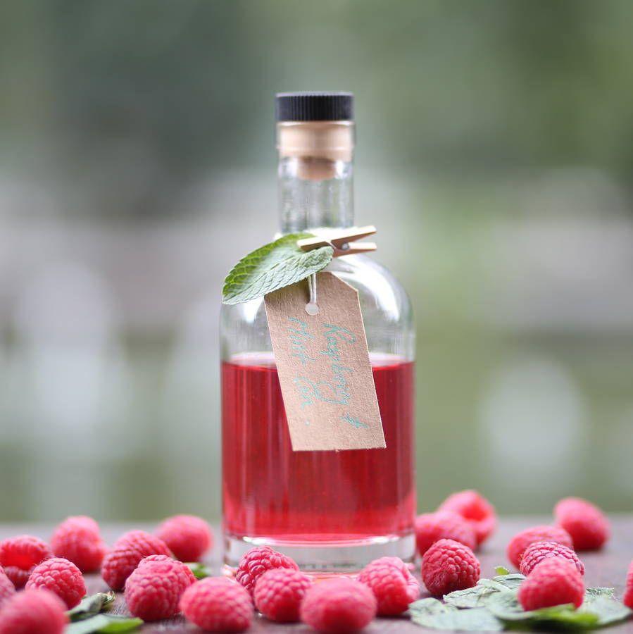 Raspberry And Mint Gin Flavoured Gin Raspberry Gin Gin Recipes