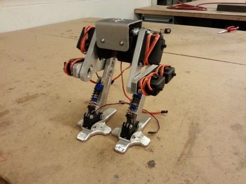 Project Sentinel A Bipedal Walking Robot Robotics Projects