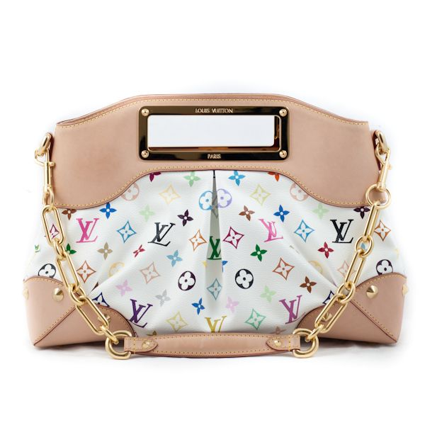 Absolutely Gorgeous Louis Vuitton Monogram Multicolour Canvas Judy Mm Definitely Makes Heads Turn