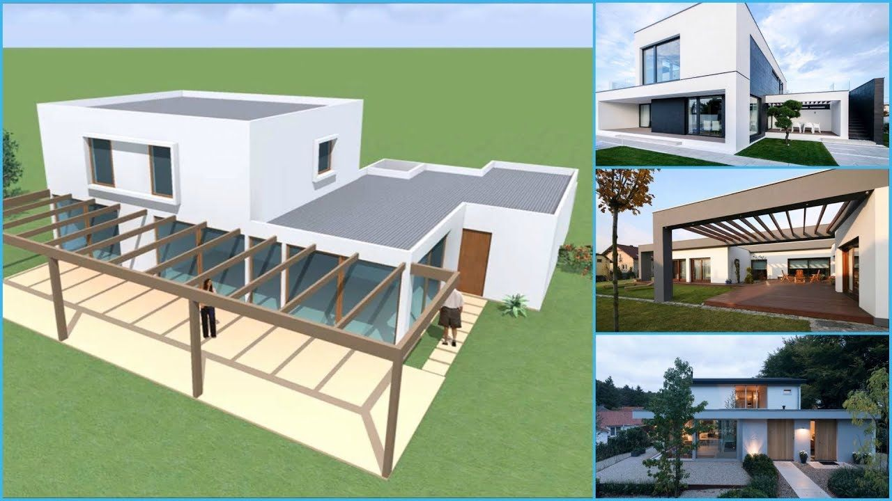 25 Casas Con Techos Planos Casas Techos Construccion