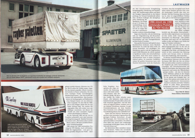1983 Steinwinter Supercargo 2040 Cab Under Concept Concept Cars Custom Trucks Mode Of Transport