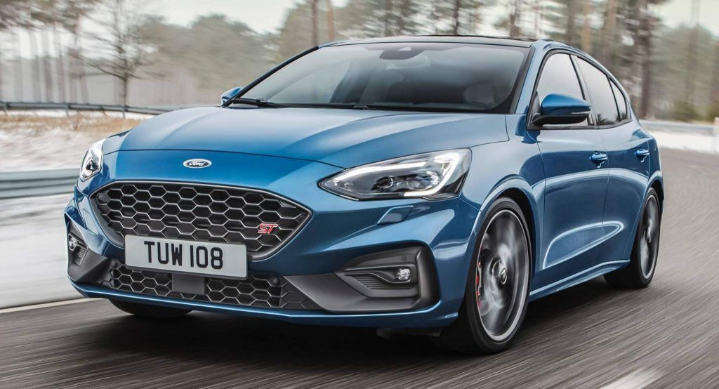 All New 2019 Ford Focus St Breaks Cover With 280 Ps 2 3l Ecoboost