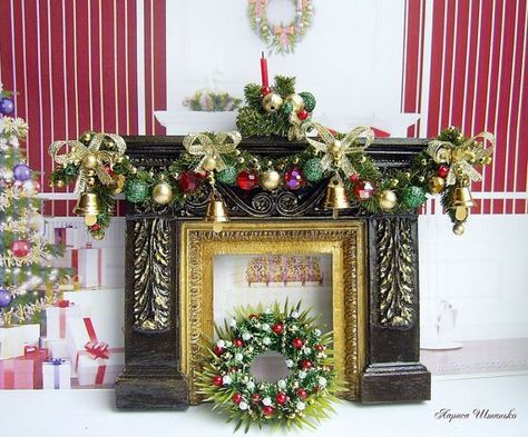 How to decorate your dollhouse for christmas in scale