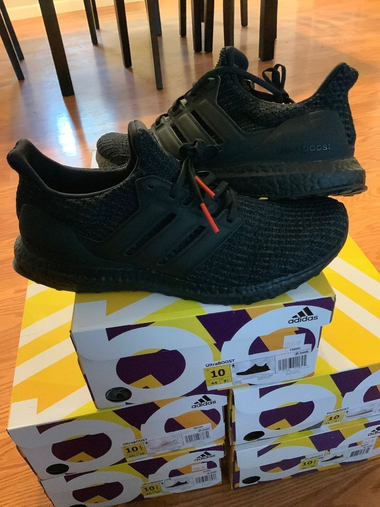 6d9f29bc9fcb (eBay link) Adidas Ultra Boost Triple Black F36641 Running Shoes US 100% AUTHENTIC 2018 DS  fashion  clothing  shoes  accessories  mensshoes   athleticshoes