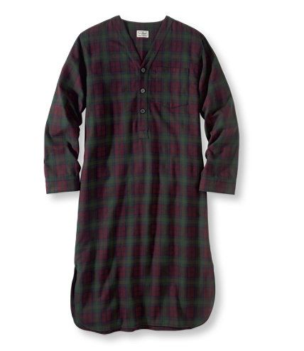 Men s Scotch Plaid Flannel Nightshirt by LL Bean - i wore my husband s so  much that he finally bought me my own  -) ef8e0a622