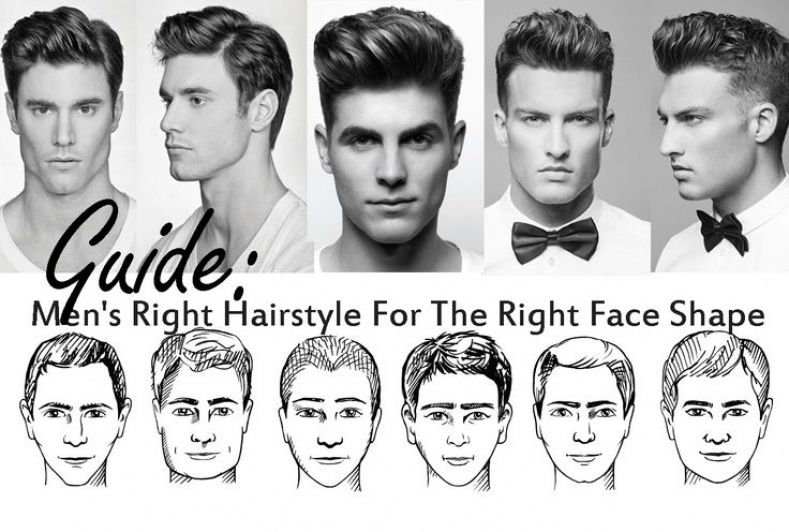 Hairstyle Based On Face Shape Men Face Shape Hairstyles Heart Face Shape Long Hair Styles Men