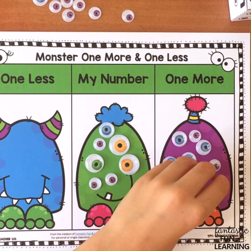 One More One Less Math Centers   Preschool Activities ...