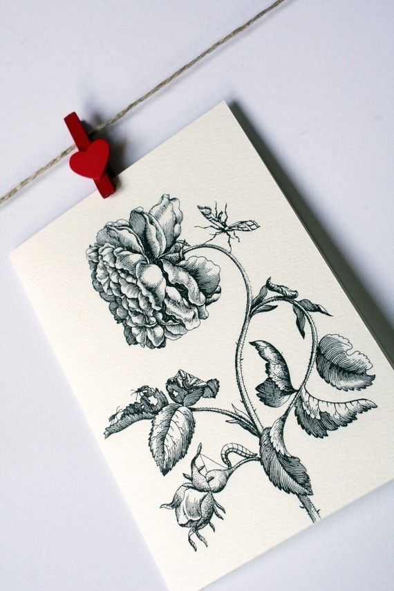 Victorian Roses cards