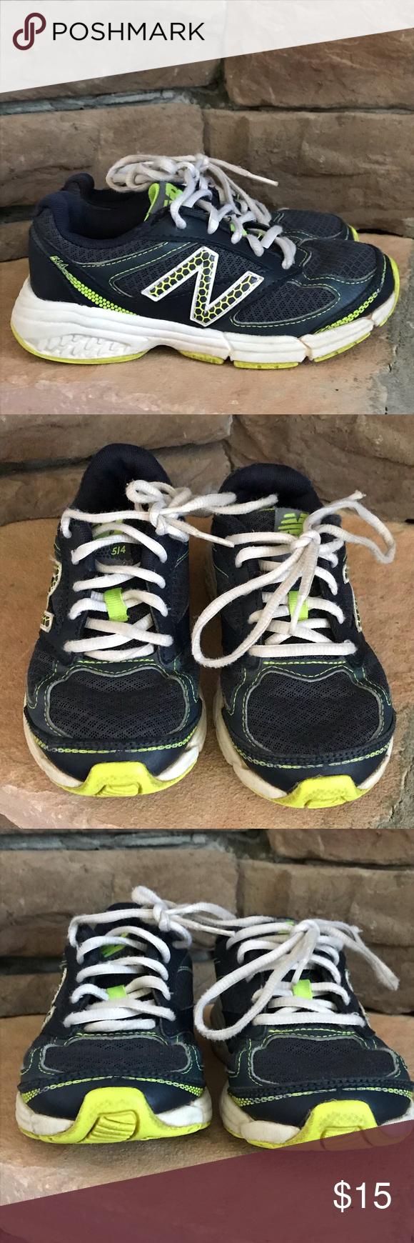 NB 514 preschool boys tennis shoes