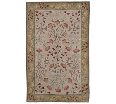 Adeline Tufted Wool Rug 5x8 Multi At Pottery Barn