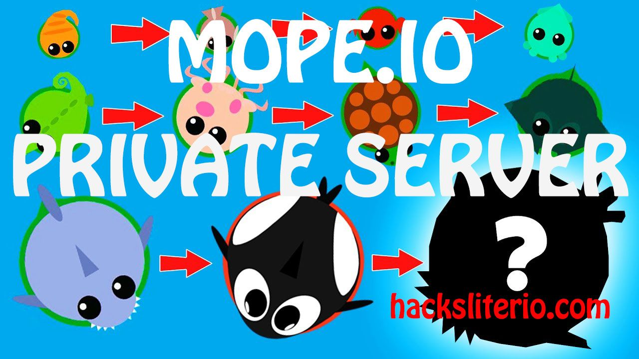 Describing The Private Server Of Mope Io Slither Io Hacks Mods Skins Tricks Extensions Hackslitherio Com Private Server Slitherio Free Avatars