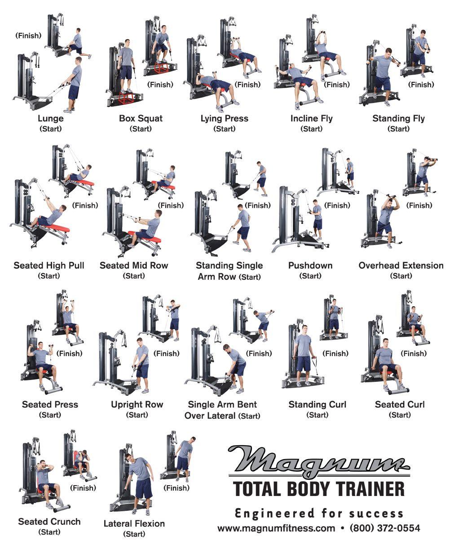 Free Multi Gym Workout Chart Pdf | EOUA Blog
