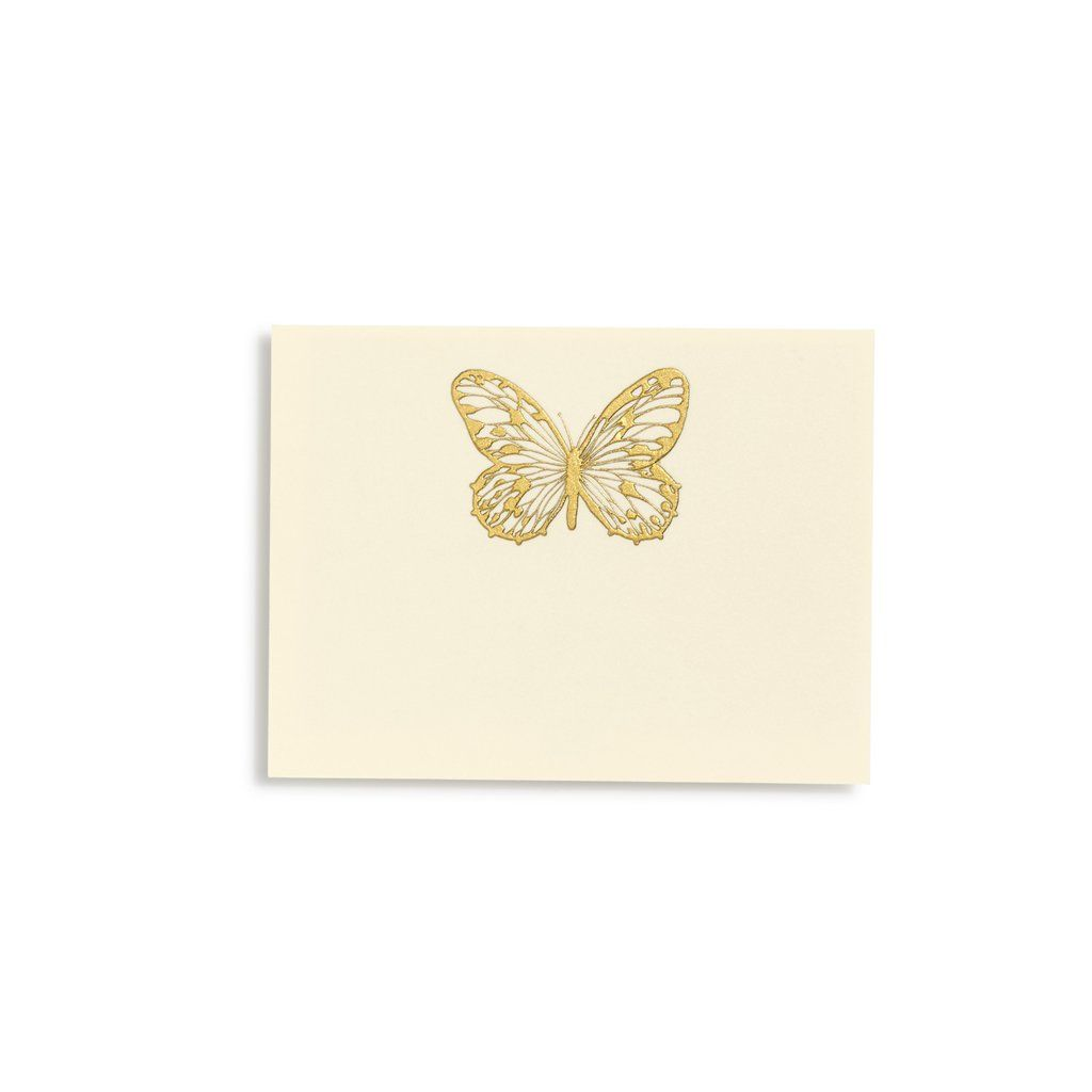 Butterfly Gold Place Cards | Set of 10 | Pinterest | Place card ...