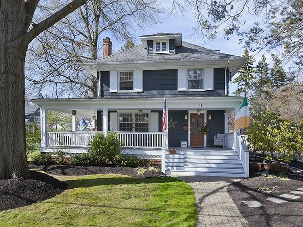 Four Square House Colors Google Search Colonial House