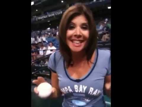 Gayle Talks About Throwing The First Pitch At The Rays Game Oh the