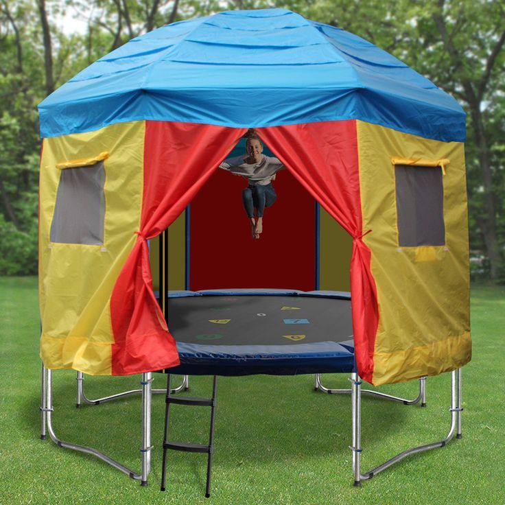 Trampoline Tent: Pin By Heather Miller On Trampolines