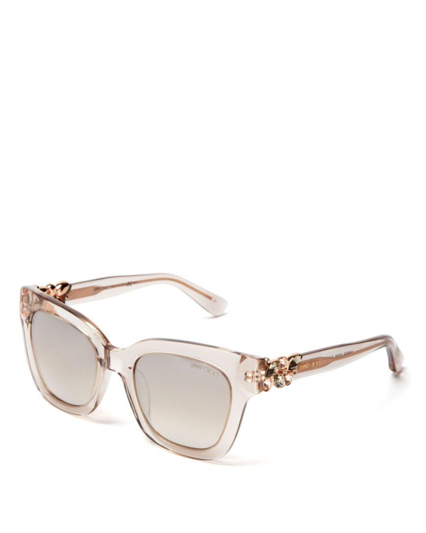 0255e85be67 Jimmy Choo Maggie Mirrored Sunglasses