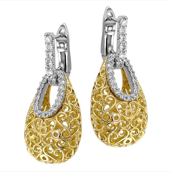 Latest Earring Designs Diamond Diamond Earring Designs ...