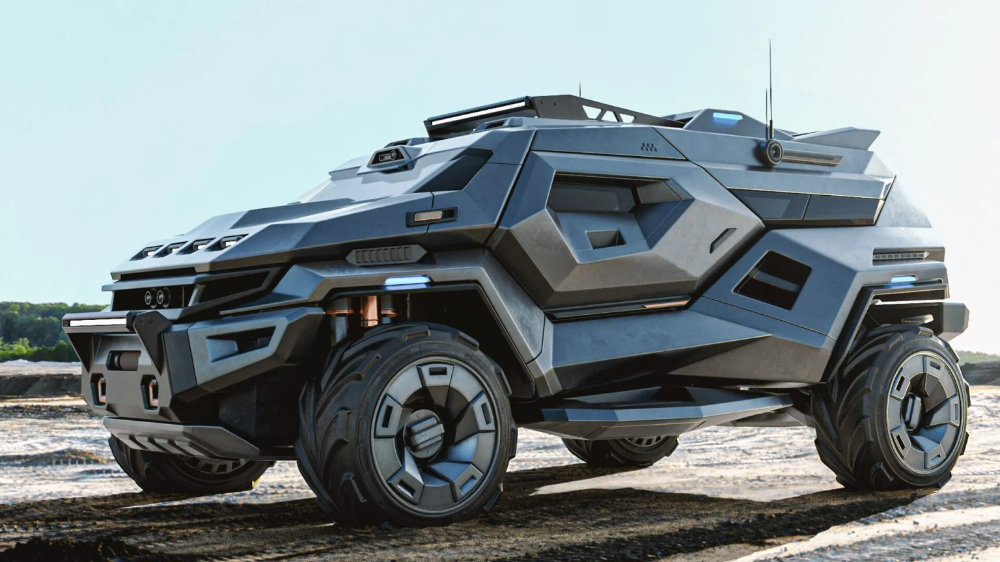 Armortruck Concept by Milen Ivanov | Inspiration Grid