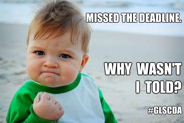 Missed The Deadline Memes Funny Funny Pictures Funny Baby Pictures