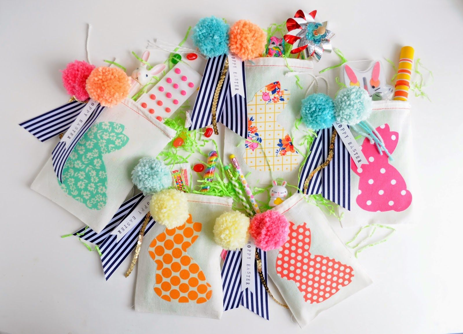 A pretty cool life diy easter party favor bags crafty girl diy easter party favor bags negle Gallery