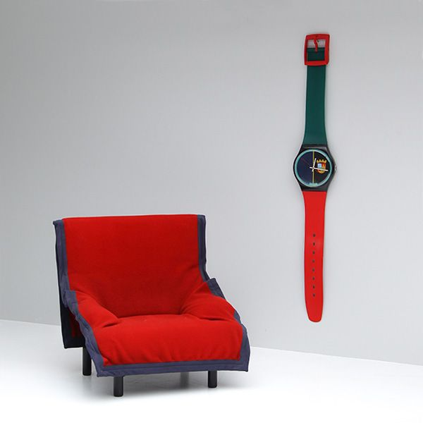 Sir Swatch Maxi Collection from 1987 all working 210 cm height ...