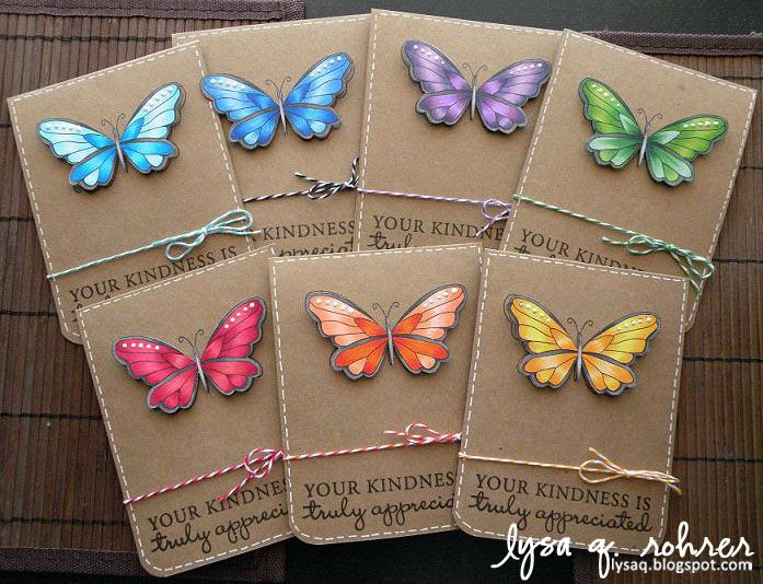 hero arts butterfly stamp