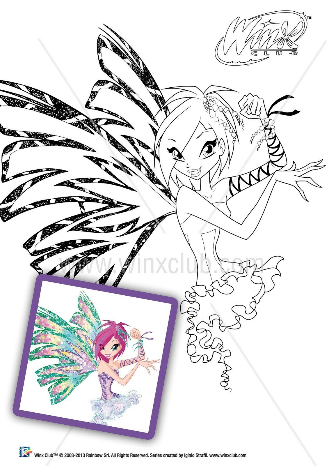 Imágenes Winx Club Sirenix oficiales para colorear!! http ...