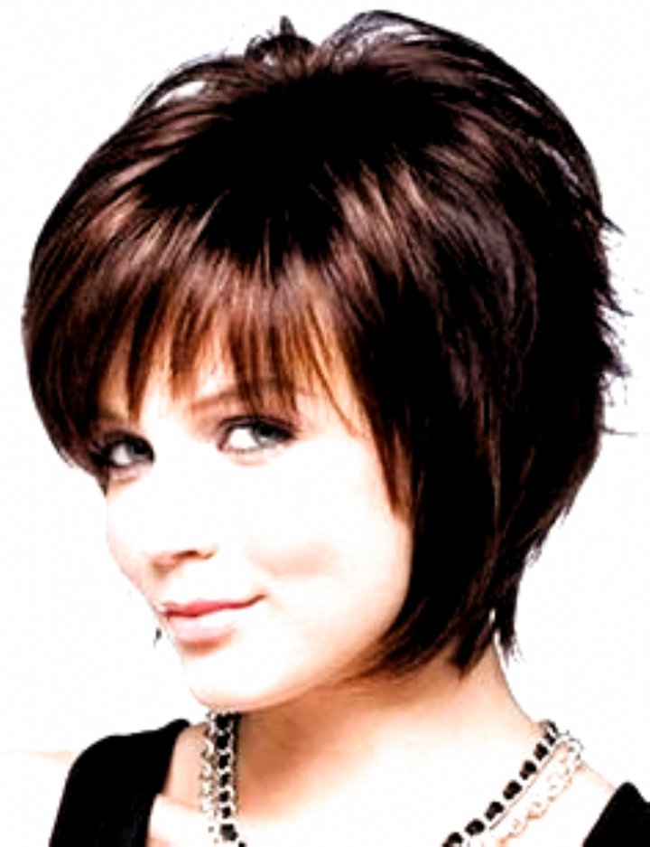 Short Hairstyles With Bangs For Round Faces And Thin Hair Medium Length Hair S In 2020 Hairstyles For Round Faces Short Hair Styles For Round Faces Hair Styles