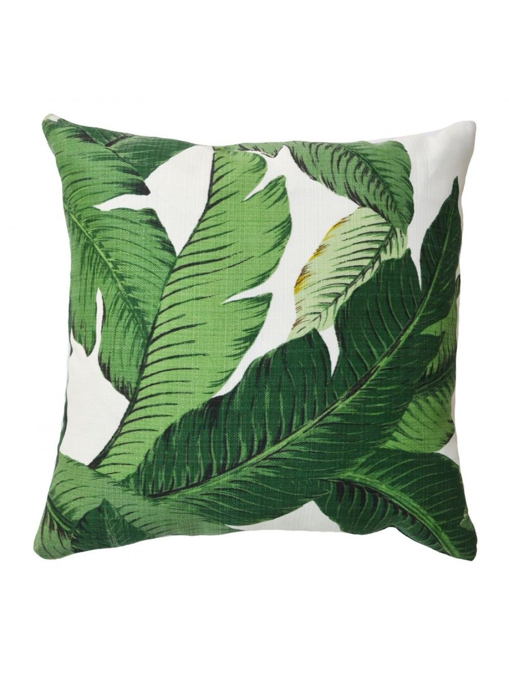 Bananas Over Banana Palm Pillow Luluandgeorgia