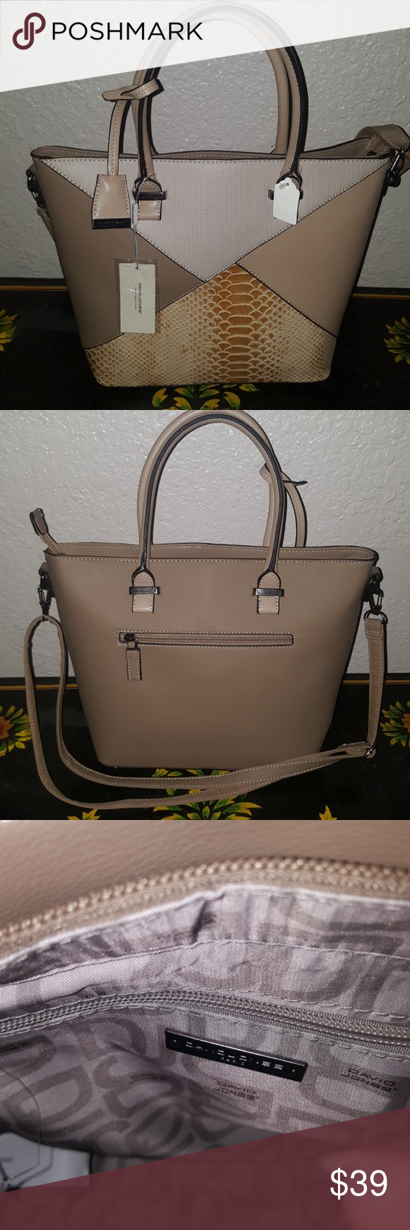 9acc95face Spotted while shopping on Poshmark  David Jones bag!  poshmark  fashion   shopping  style  David Jones  Handbags