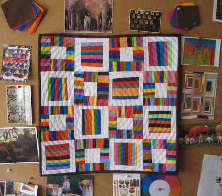 Love the concentric quilting!