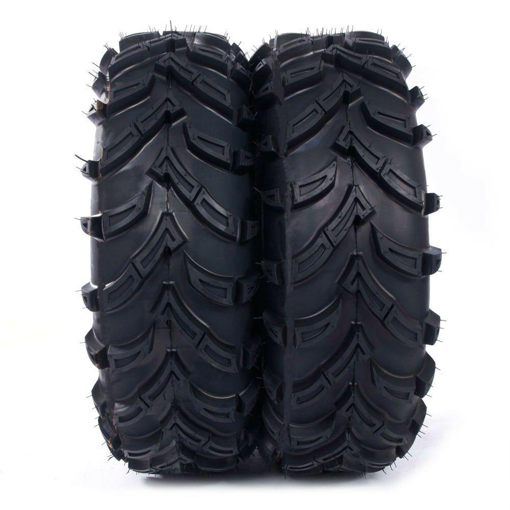 Sponsored eBay) ATV Tires 26x9-14 Front left right Rubber