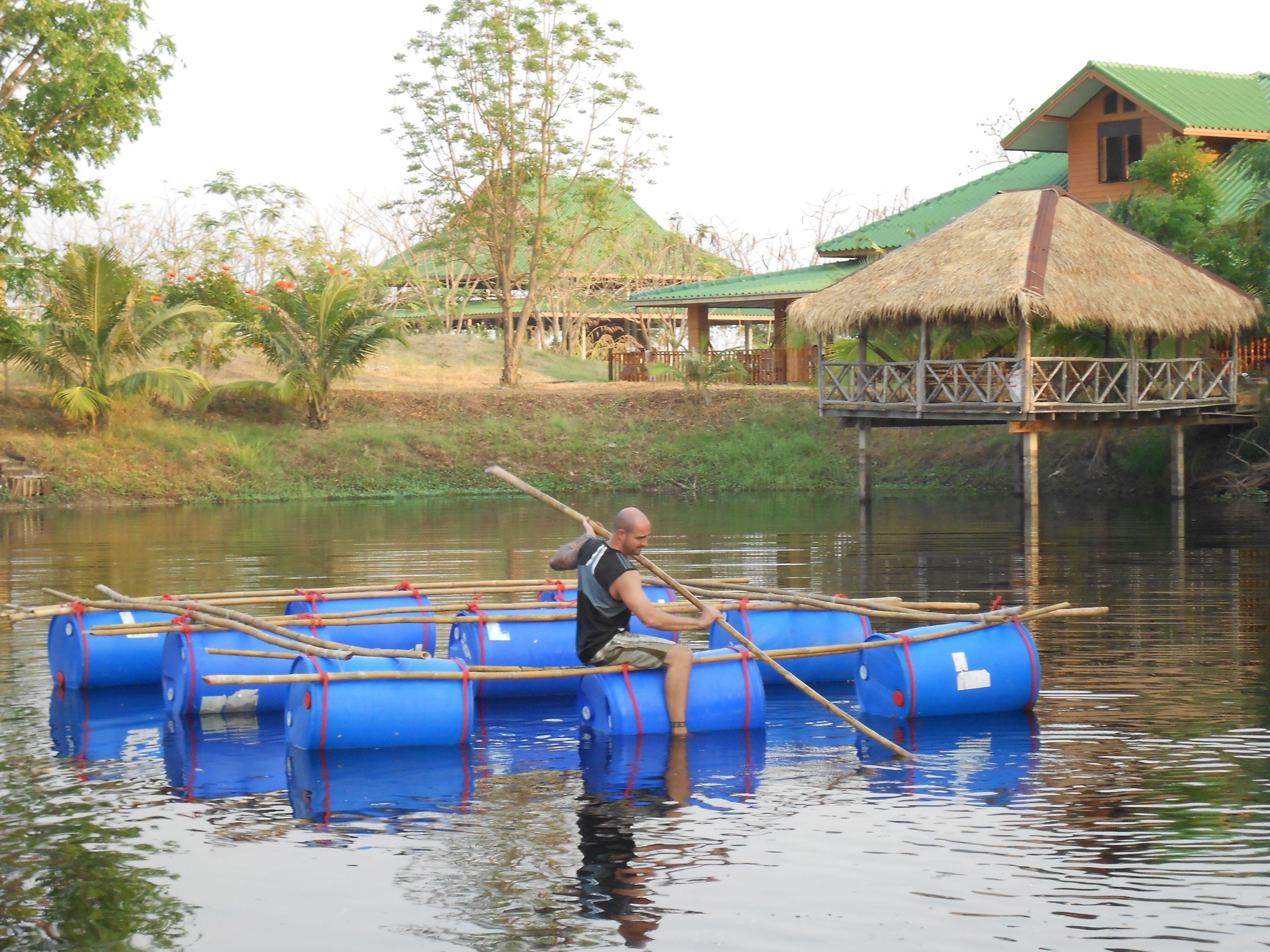 Permaponics an introduction to aquaculture and aquaponics for Aquaponics pond