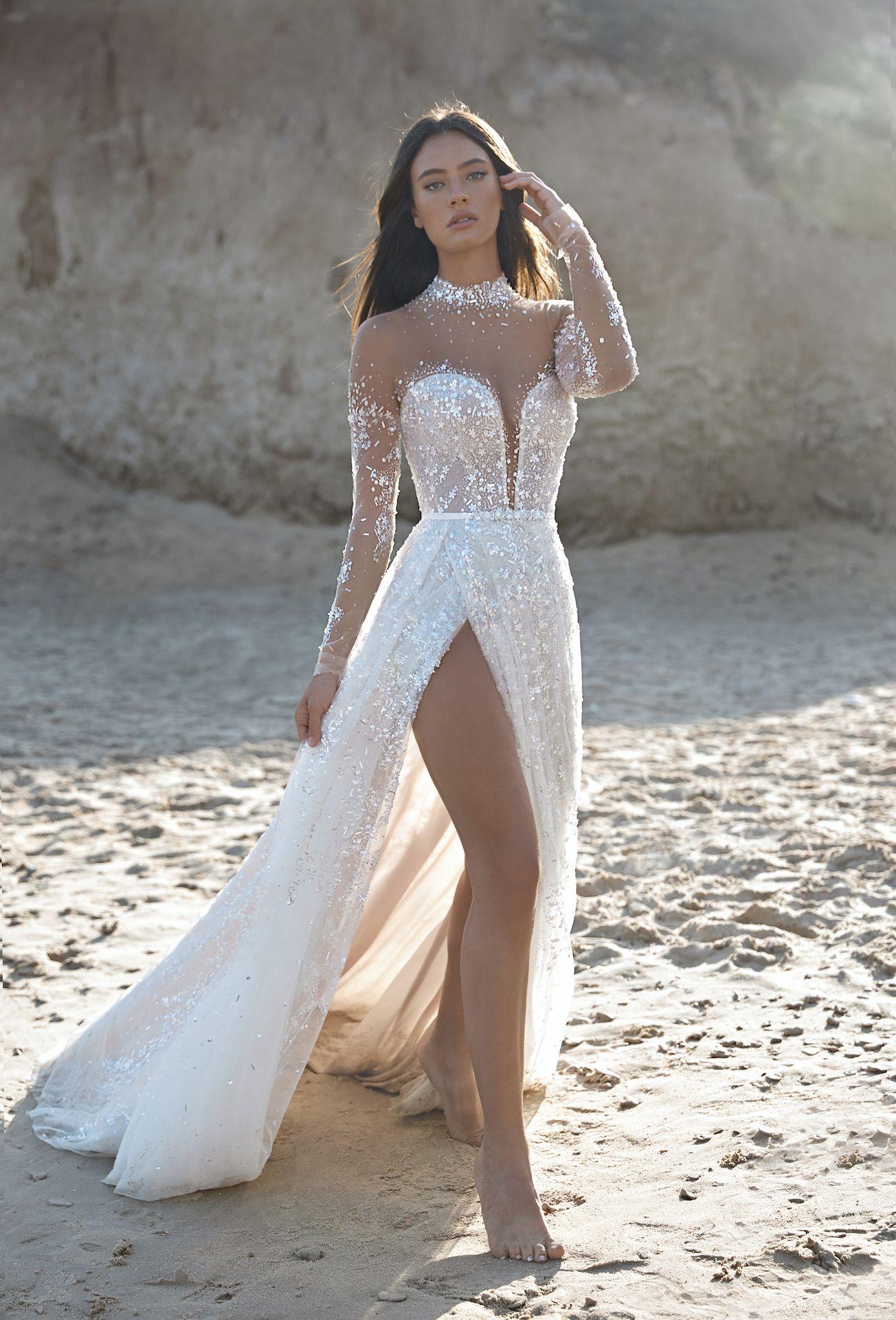 Lee Grebenau Ss2021 Bridal Collection La Belle Epoque Sparkly Wedding Gowns Wedding Dress Couture Sparkly Wedding Dress [ 1920 x 1304 Pixel ]