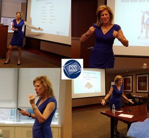 join us for public speaking made easy at 6 00 pm on tuesday september 12th we will be at our new workshop l public speaking accent reduction corporate speech pinterest
